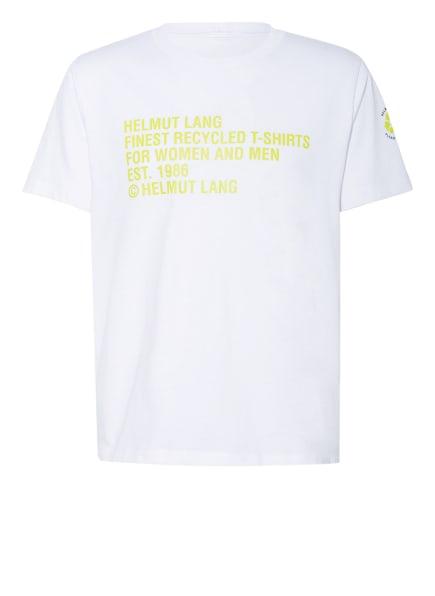 HELMUT LANG T-Shirt, Farbe: WEISS/ GRÜN (Bild 1)