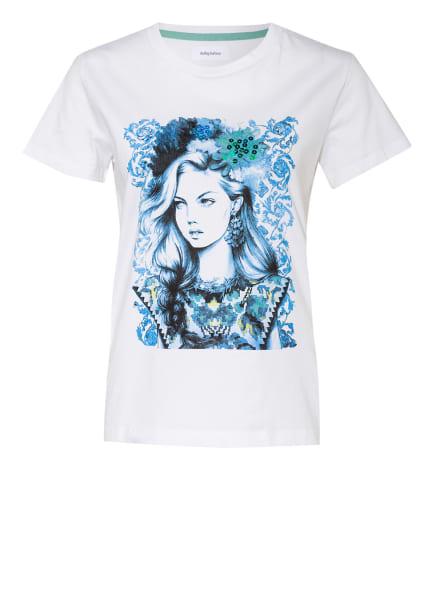 darling harbour T-Shirt, Farbe: WEISS/ HELLBLAU (Bild 1)