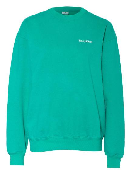 SPORTY & RICH Sweatshirt, Farbe: GRÜN (Bild 1)