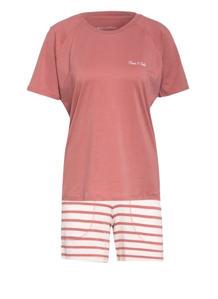 Marc O'Polo Shorty-Schlafanzug, Farbe: ALTROSA/ HELLROSA (Bild 1)