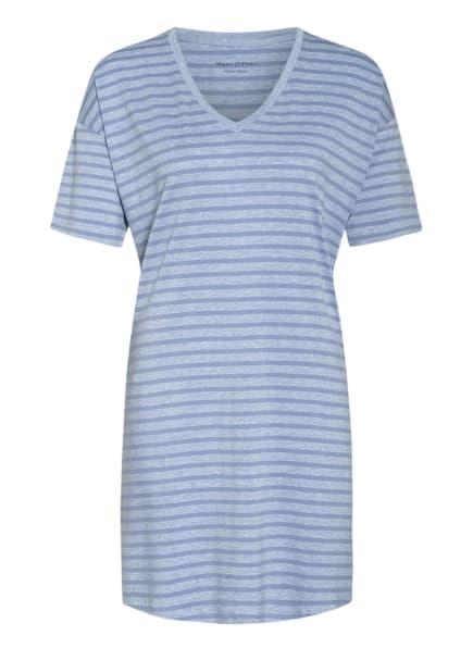 Marc O'Polo Nachthemd , Farbe: HELLBLAU/ BLAU (Bild 1)