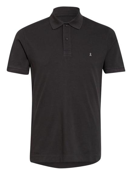 ARMEDANGELS Piqué-Poloshirt AANTON , Farbe: DUNKELGRAU (Bild 1)