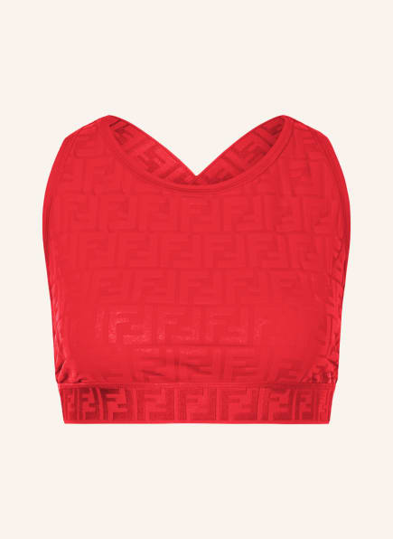 FENDI Cropped-Top, Farbe: ROT (Bild 1)