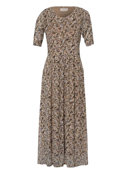 FREEQUENT Kleid FQGRY, Farbe: HELLBRAUN/ DUNKELBRAUN/ BLAU (Bild 1)