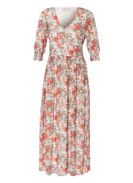 FREEQUENT Kleid FQPONA, Farbe: WEISS/ ROT/ GRÜN (Bild 1)