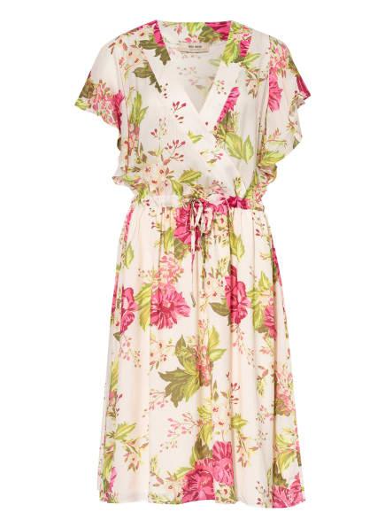MOS MOSH Kleid TACY in Wickeloptik, Farbe: ECRU/ ROSA/ PINK (Bild 1)