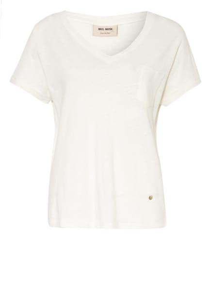 MOS MOSH T-Shirt MAYA mit Leinen, Farbe: ECRU (Bild 1)