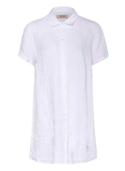 MOS MOSH Hemdbluse BRIELE aus Leinen, Farbe: WEISS (Bild 1)