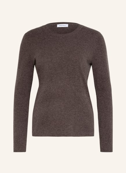 darling harbour Cashmere-Pullover, Farbe: TAUPE (Bild 1)