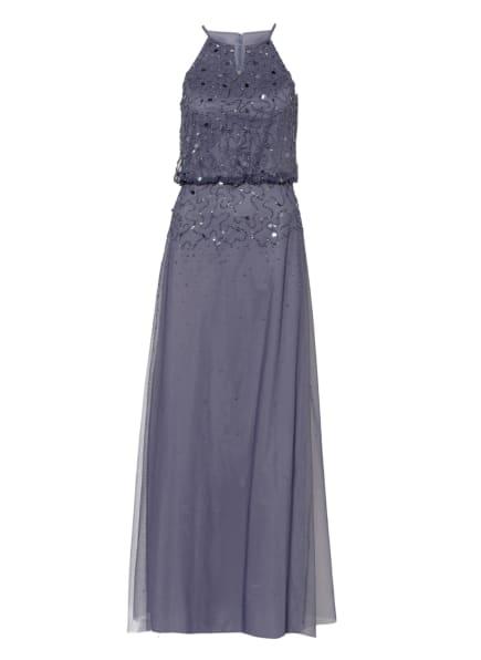 LAONA Abendkleid mit Schmucksteinen und Pailletten, Farbe: BLAU (Bild 1)