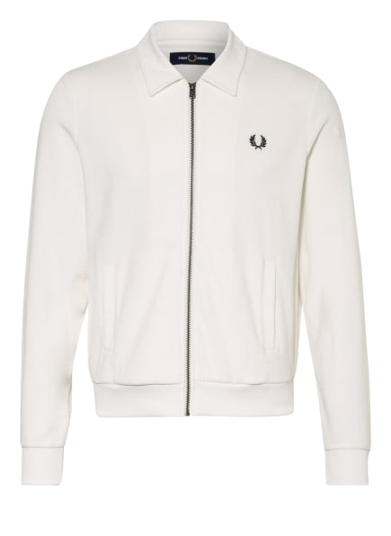FRED PERRY Frottee-Jacke, Farbe: WEISS (Bild 1)