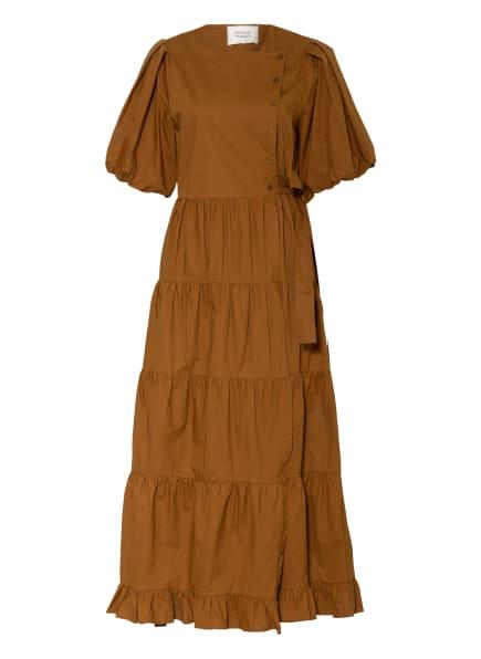 SECOND FEMALE Wickelkleid ATHENA, Farbe: BRAUN (Bild 1)