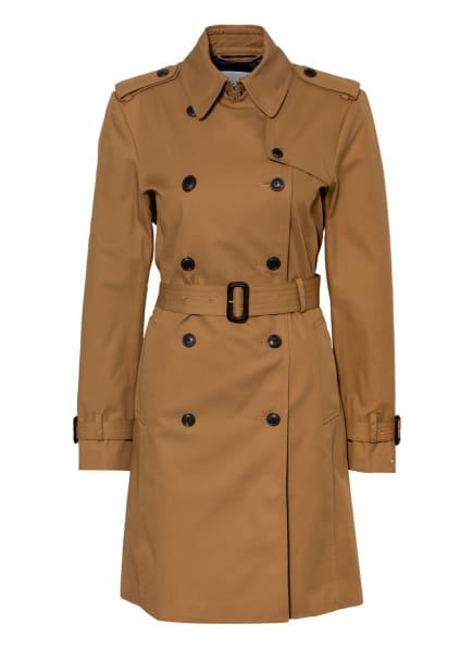TOMMY HILFIGER Trenchcoat, Farbe: CAMEL (Bild 1)