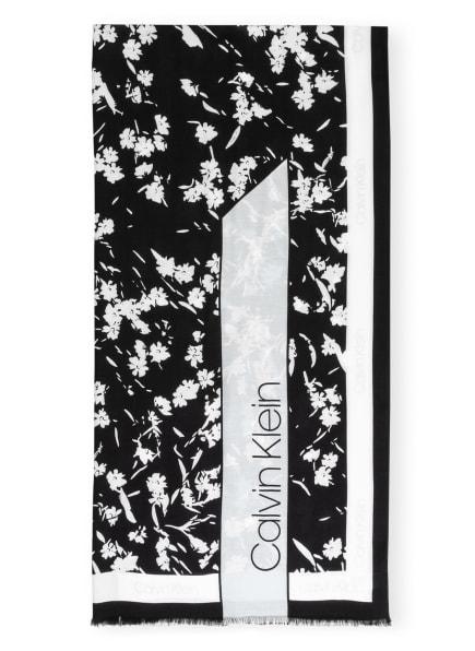 Calvin Klein Schal, Farbe: SCHWARZ/ WEISS (Bild 1)