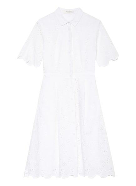 BETTY&CO Hemdblusenkleid aus Lochspitze , Farbe: WEISS (Bild 1)