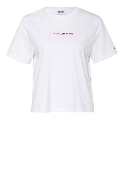 TOMMY JEANS T-Shirt, Farbe: WEISS/ BLAU/ ROT (Bild 1)