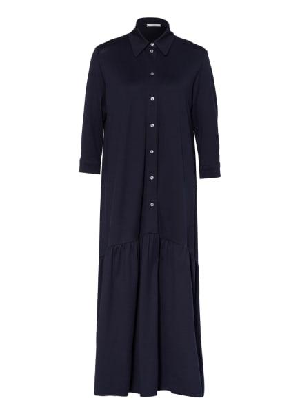 CIRCOLO 1901 Piqué-Kleid mit 3/4-Arm, Farbe: DUNKELBLAU (Bild 1)