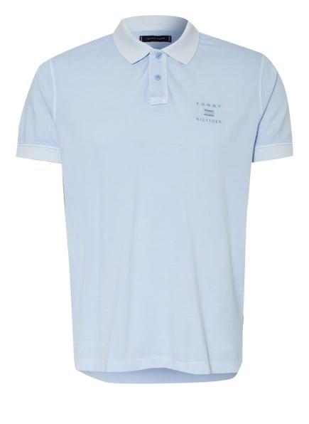 TOMMY HILFIGER Piqué-Poloshirt Regular Fit, Farbe: HELLBLAU (Bild 1)