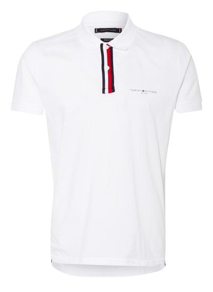 TOMMY HILFIGER Jersey-Poloshirt Regular Fit, Farbe: WEISS (Bild 1)