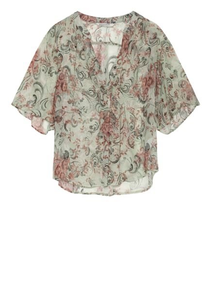 summum woman Blusenshirt, Farbe: HELLGRÜN/ BRAUN/ SCHWARZ (Bild 1)