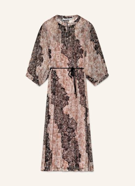 summum woman Kleid , Farbe: CREME/ DUNKELBRAUN/ BRAUN (Bild 1)