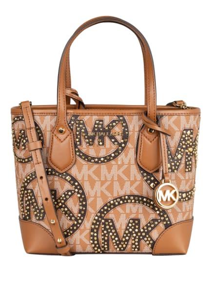 MICHAEL KORS Handtasche EVA mit Nietenbesatz und Pouch, Farbe: 299 LUGG MULTI (Bild 1)
