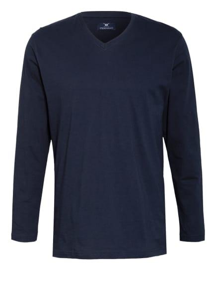 STROKESMAN'S Schlafshirt, Farbe: DUNKELBLAU (Bild 1)