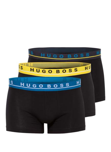 BOSS 3er-Pack Boxershorts, Farbe: SCHWARZ (Bild 1)