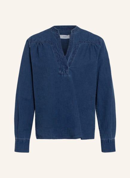 CLOSED Blusenshirt NYSSA, Farbe: BLAU (Bild 1)