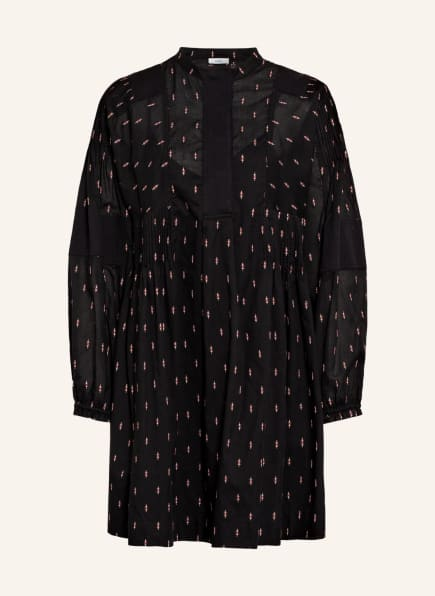 CLOSED Kleid, Farbe: SCHWARZ/ WEISS/ ROSÉ (Bild 1)