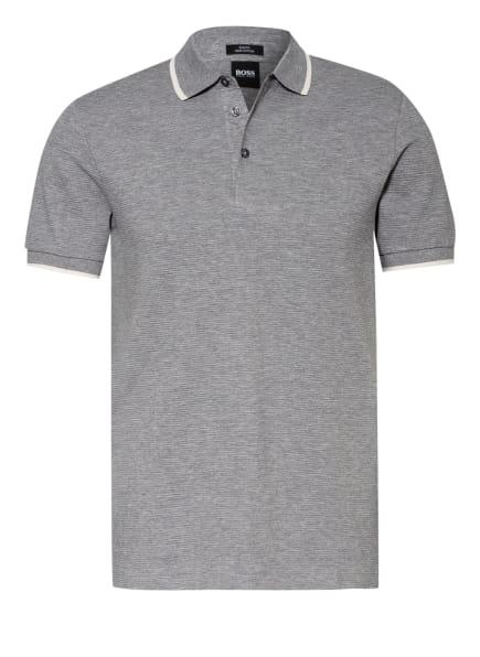 BOSS Jersey-Poloshirt PENROSE Slim Fit, Farbe: GRAU/ ECRU (Bild 1)