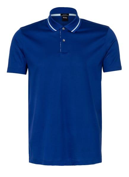 BOSS Jersey-Poloshirt PARLAY Regular Fit, Farbe: BLAU (Bild 1)