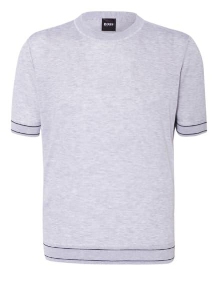 BOSS Strickshirt HORELLI , Farbe: HELLGRAU (Bild 1)