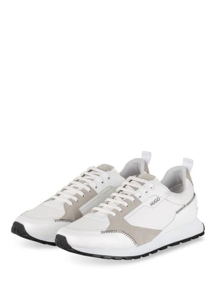 HUGO Sneaker ICELIN, Farbe: WEISS/ GRAU (Bild 1)