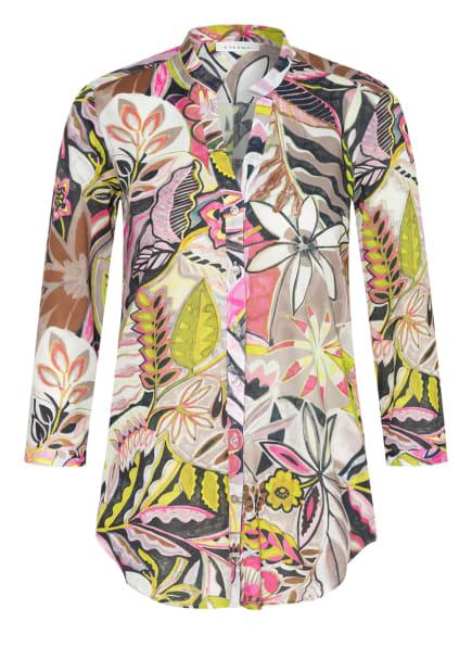 ETERNA Bluse mit 3/4-Arm , Farbe: HELLGRÜN/ BEIGE/ PINK (Bild 1)