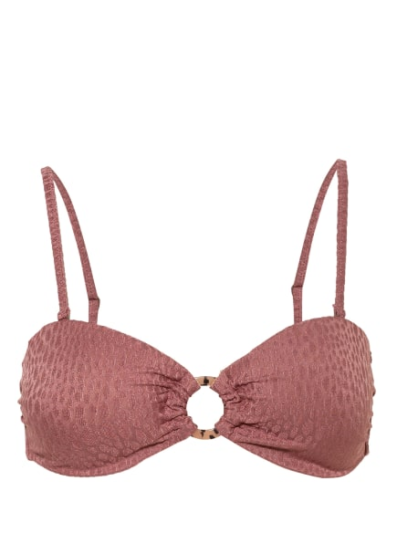 LOVE Stories Bandeau-Bikini-Top BLOSSOM, Farbe: ALTROSA (Bild 1)