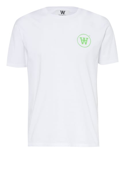 WOOD WOOD T-Shirt ACE , Farbe: WEISS (Bild 1)