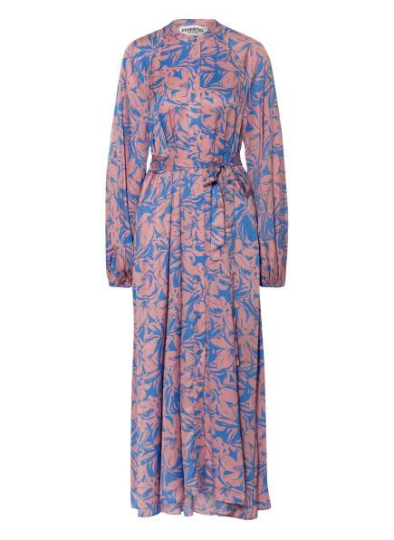 ESSENTIEL ANTWERP Kleid ZASPARGUS, Farbe: ROSÉ/ BLAU (Bild 1)