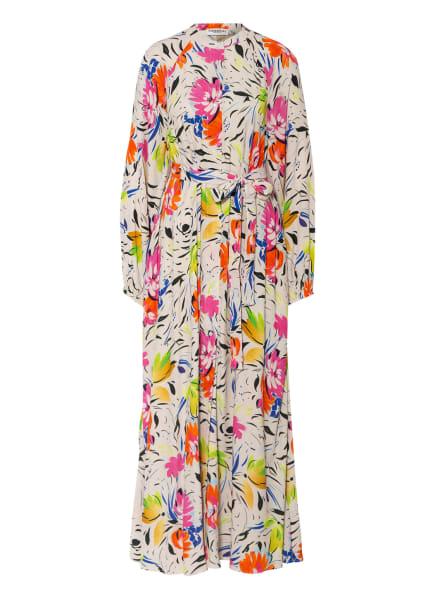ESSENTIEL ANTWERP Kleid ZABBAGE, Farbe: CREME/ BLAU/ GRÜN (Bild 1)