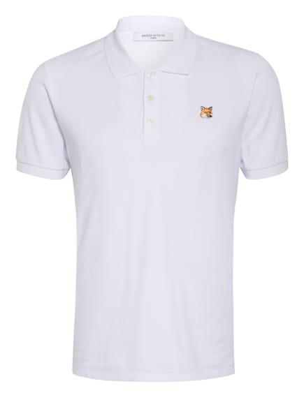 MAISON KITSUNÉ Pique-Poloshirt, Farbe: WEISS (Bild 1)