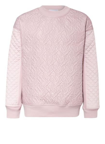 BURBERRY Sweatshirt, Farbe: ROSÉ (Bild 1)