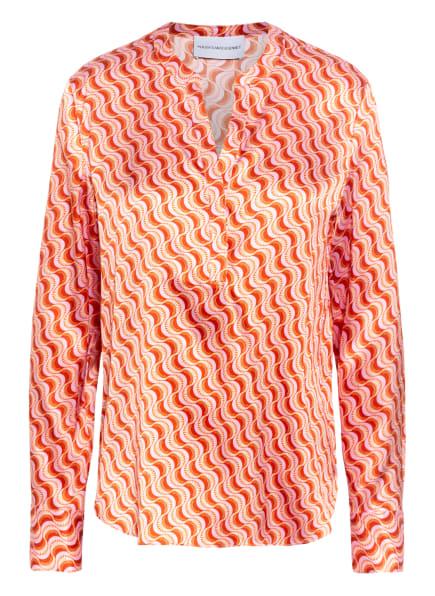 herzensangelegenheit Blusenshirt aus Seide, Farbe: DUNKELORANGE/ ROSA/ DUNKELROT (Bild 1)