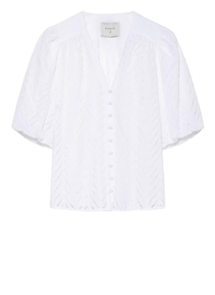 DANTE6 Bluse KENZLY mit Lochstickereien, Farbe: WEISS (Bild 1)