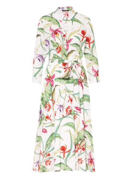 SWING Kleid, Farbe: WEISS/ GRÜN/ ROT (Bild 1)