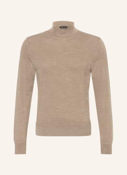 TOM FORD Pullover aus Merinowolle , Farbe: CAMEL/ BEIGE (Bild 1)