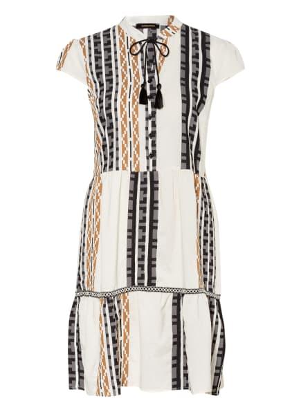 MORE & MORE Kleid, Farbe: WEISS/ COGNAC/ SCHWARZ (Bild 1)