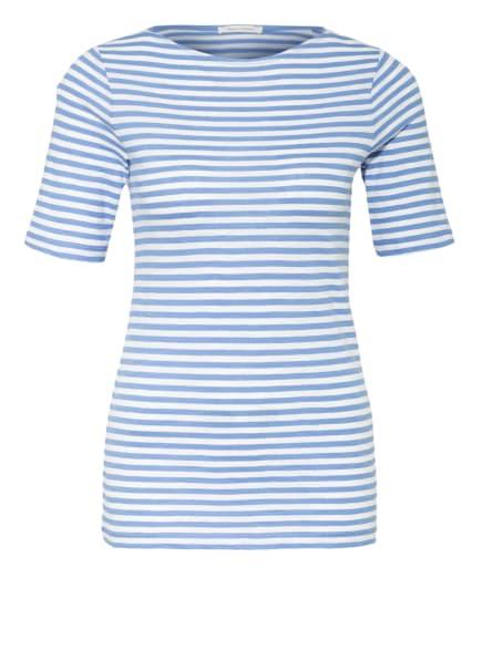 Marc O'Polo T-Shirt, Farbe: WEISS/ HELLBLAU (Bild 1)