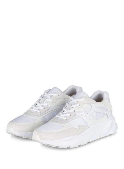 TORY BURCH Plateau-Sneaker SAWYER, Farbe: WEISS/ CREME (Bild 1)