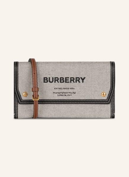 BURBERRY Geldbörse zum Umhängen, Farbe: SCHWARZ/ WEISS/ BRAUN (Bild 1)