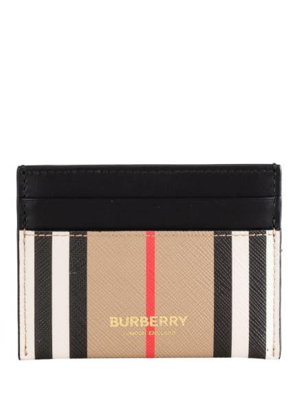 BURBERRY Kartenetui, Farbe: BEIGE/ WEISS/ SCHWARZ (Bild 1)